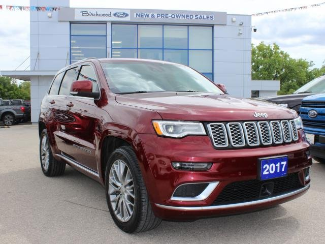 2017 Jeep Grand Cherokee Summit CLEAN CARFAX | 1 OWNER