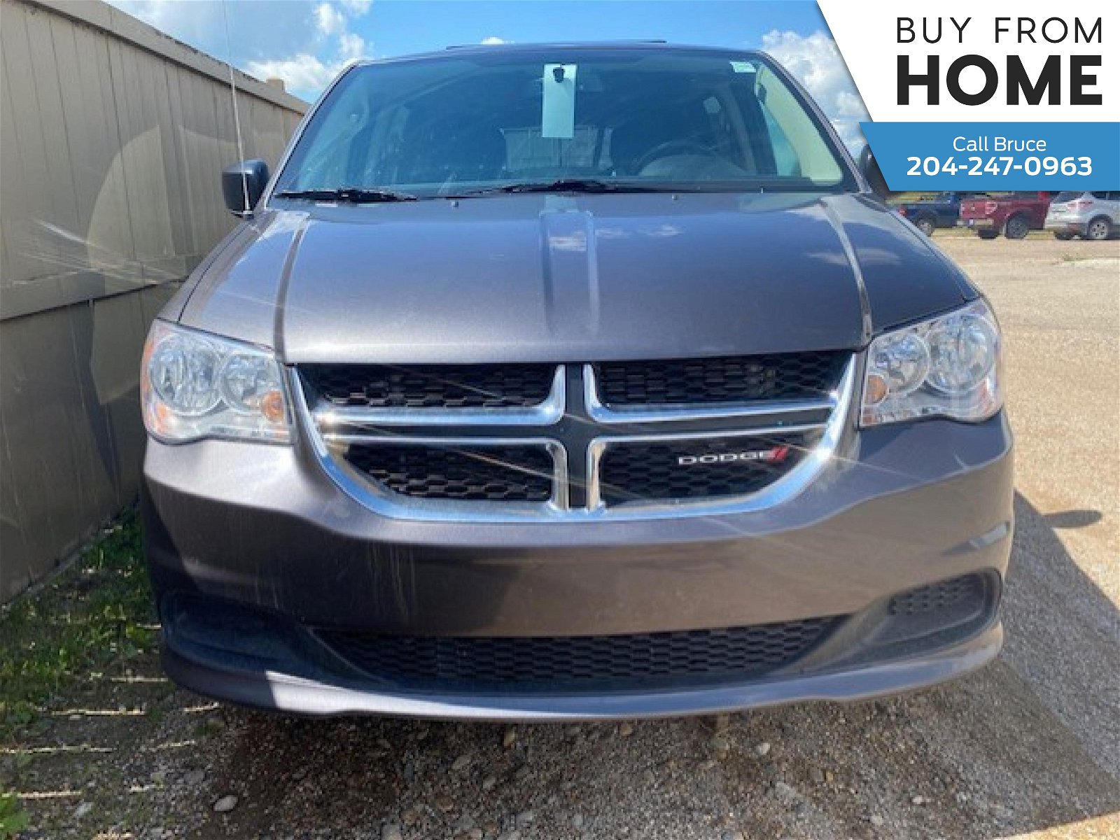 2018 Dodge Grand Caravan SXT Canadian