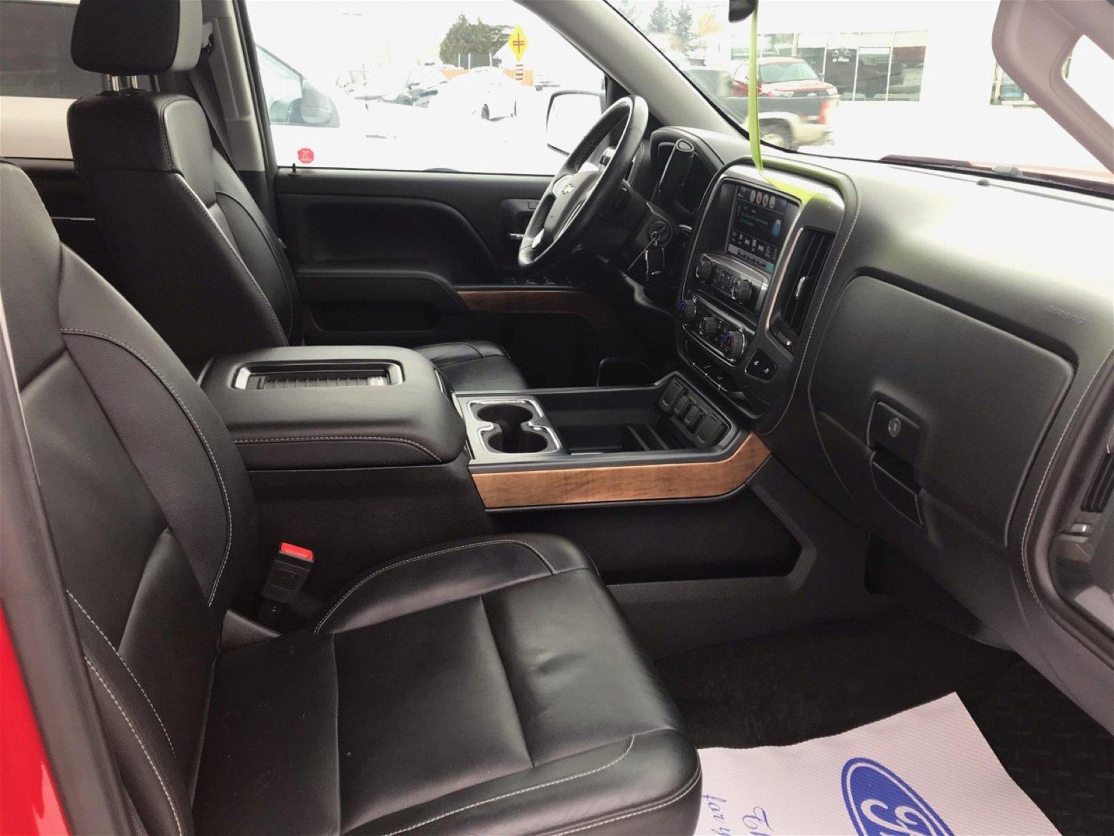 2017 Chevrolet Silverado 1500 LTZ Crew 4X4