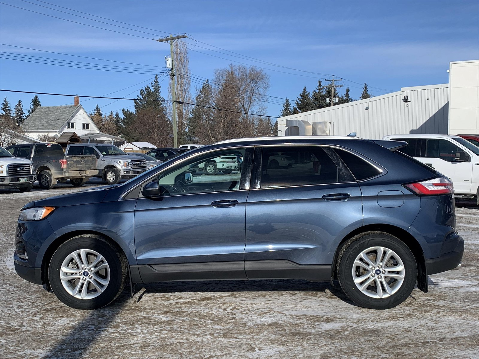2019 Ford Edge SEL AWD Leather, HTD Wheel