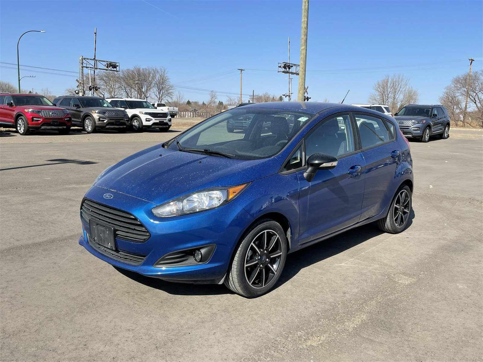 2019 Ford Fiesta SE Appearance package