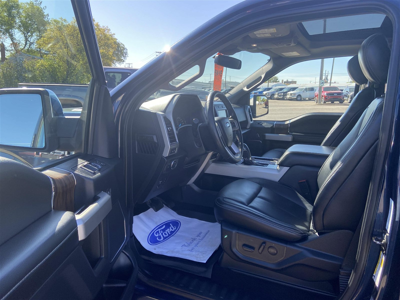 2019 Ford F-150 LARIAT 502a Moonroof